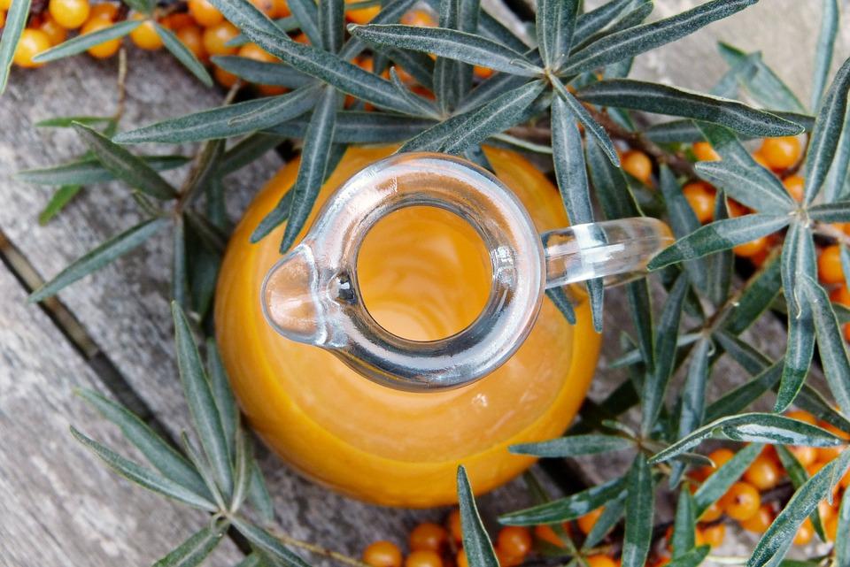 sanddornsaft mit viel vitamin c